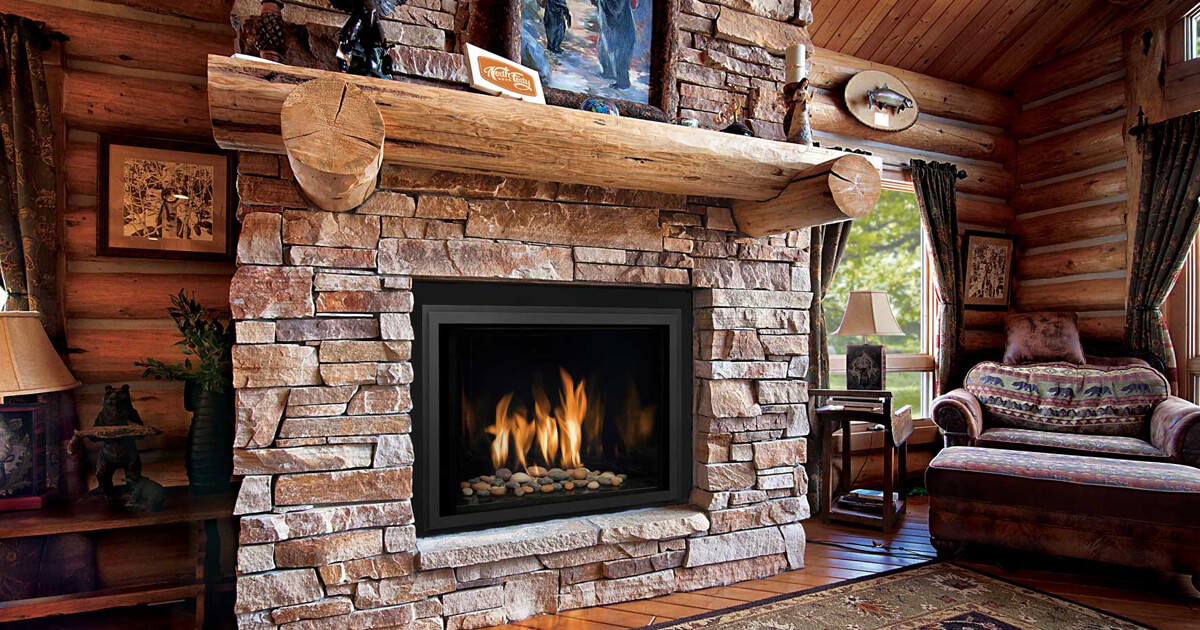 Fireplace Materials Play A Role In Design Ideas